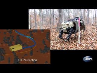 Робот LS3 от Boston Dynamics научился понимать голосовые команды